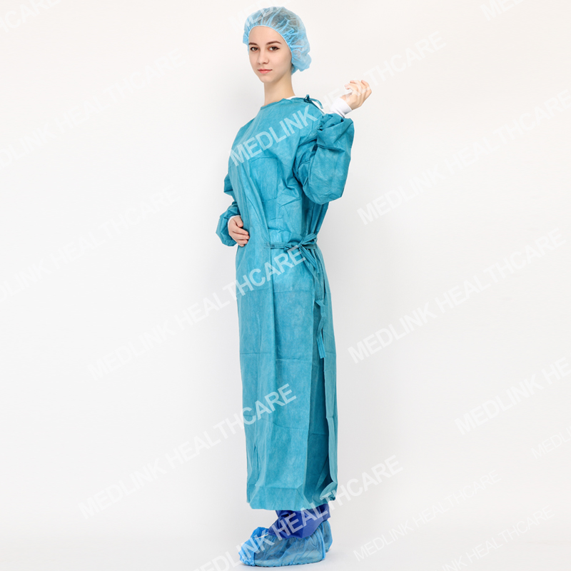 Surgical gown _ Hubei Medlink Healthcare Co., Ltd